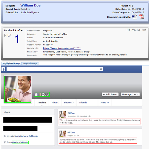 Social Intel  Products  Social Media Hiring Report  Social