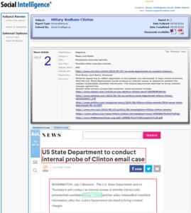 Social Intelligence – Hilary Digital Footprint Investigation & Social Media Report