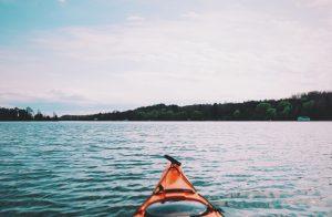 lake kajak kayak