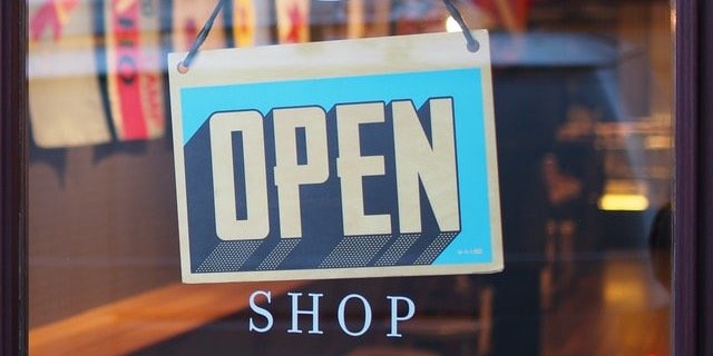 shop open small retail